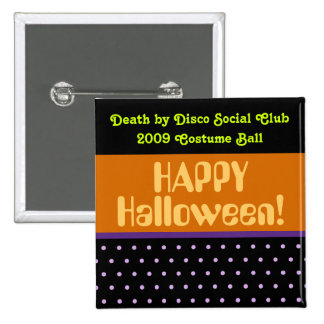 Halloween Cheer 2 Inch Square Button