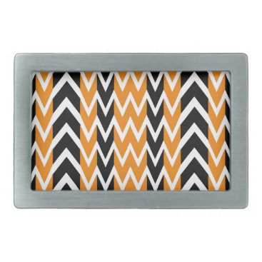 Halloween Themed Halloween Chevron Curves Belt Buckle