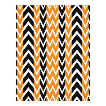 Halloween Themed Halloween Chevron Curves Letterhead