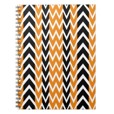 Halloween Themed Halloween Chevron Curves Notebook