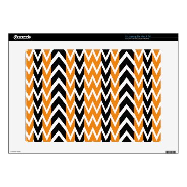 Halloween Themed Halloween Chevron Curves Skins For Laptops