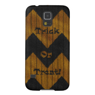 Halloween Chevron Knit Case For Galaxy S5