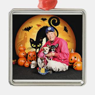 Halloween - chihuahua - bebé y Hopey Ornato