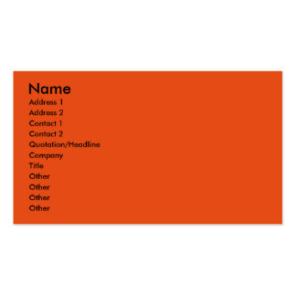 Halloween - Chihuahua - Chulo Double-Sided Standard Business Cards (Pack Of 100)