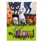 Halloween - chihuahua - Chulo Postal