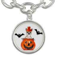 Halloween chihuahua dog bracelet