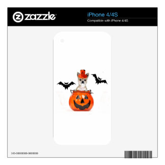 Halloween Chihuahua Dog Decal For The iPhone 4S