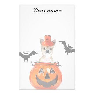 Halloween Chihuahua dog Stationery