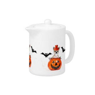 Halloween Chihuahua dog Teapot
