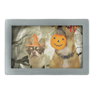 Halloween chihuahua dogs belt buckle