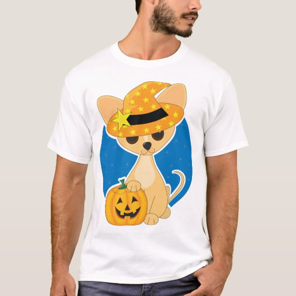 Halloween Chihuahua Mens T-Shirt
