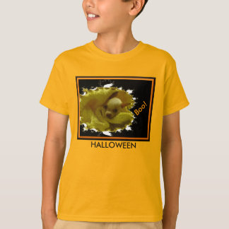 Halloween Chihuahua Orange Kids' T-Shirt