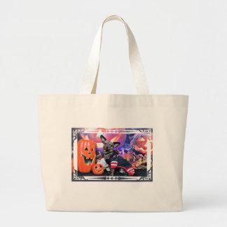 Halloween - Chiweenie - Sherekhan Canvas Bag