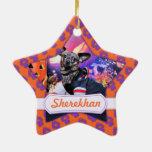 Halloween - Chiweenie - Sherekhan Adorno De Cerámica En Forma De Estrella