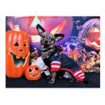 Halloween - Chiweenie - Sherekhan Postal