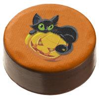 Halloween Chocolate Dipped Oreo Cookie