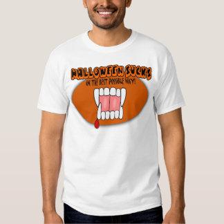 ¡Halloween chupa de la mejor manera posible! Playeras