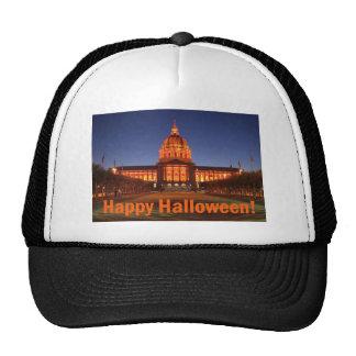 Halloween City Hall Trucker Hat