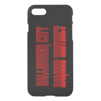 halloween city  zambie district iPhone 8/7 Clearly iPhone 8/7 Case