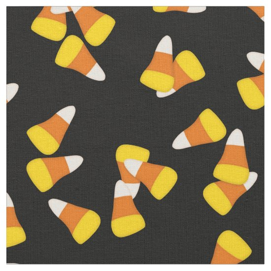 Halloween classic candy corn pieces pattern fabric