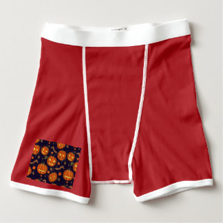 Halloween,classic,pumkin,vintage patten,scary,cute boxer briefs