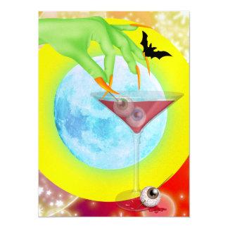 Halloween Cocktail - SRF 5.5x7.5 Paper Invitation Card