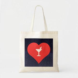 Halloween Cocktails Symbol Budget Tote Bag