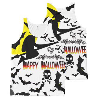 Halloween Collage1 All-Over Print Tank Top