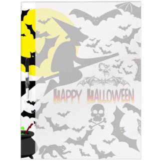 Halloween Collage1 Dry-Erase Board