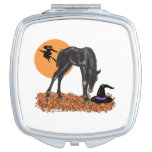 Halloween Colt Witch's Hat Travel Mirrors