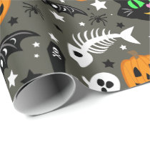Halloween Confetti Wrapping Paper