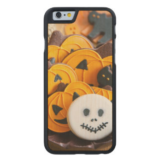 Halloween cookies carved maple iPhone 6 slim case