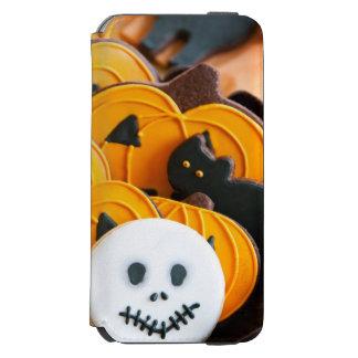 Halloween cookies iPhone 6/6s wallet case