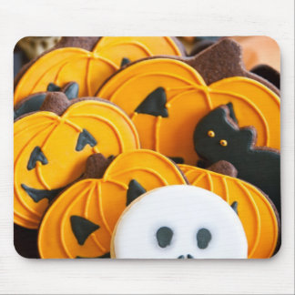 Halloween cookies mouse pad