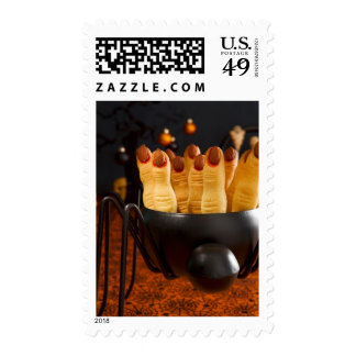 Halloween Cookies - Witch'S Fingers Postage Stamp