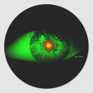 Halloween Cool and Creepy Eye of Witch Stickers