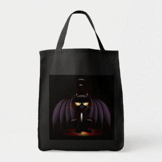 Halloween - Cool Bat Cat Tote Bag