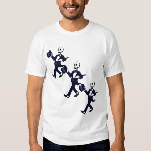 Halloween Cool Dancing Skeletons T-Shirt