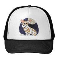 Halloween Corgi Mummy Hat