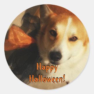 Halloween Corgi Stickers