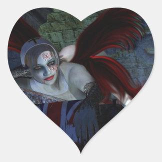 Halloween Corpse Heart Sticker