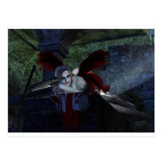Halloween Corpse Postcard