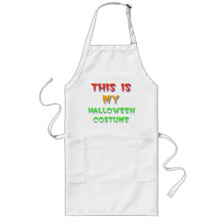Halloween Costume Apron
