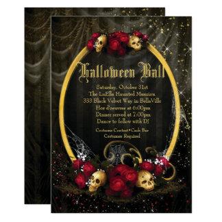 Halloween Costume Ball Invitations