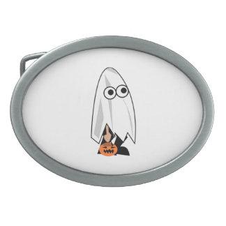 Halloween Costume Oval Belt Buckle