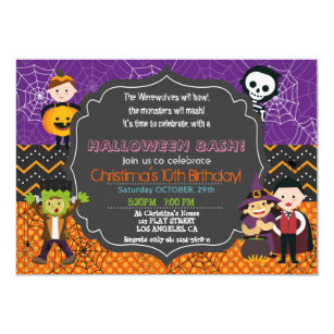 Costume Party Invitations Announcements Zazzle