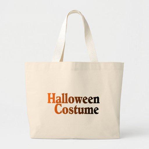 Halloween Costume Canvas Bags