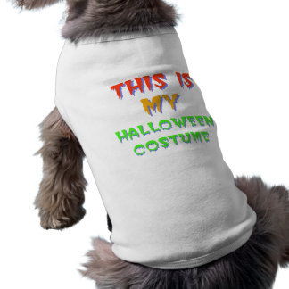 Halloween Costume Dog Shirt