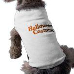 Halloween Costume Doggie Tshirt