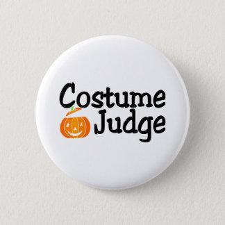 Halloween Costume Judge Pumpkin Button